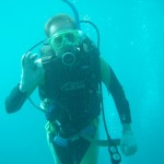 Ich unter Wasser